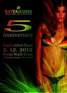 5th Anniversary Rastamasha